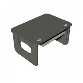 Письменный стол трансформер ERGO с кабель-каналом ER-1000-700K