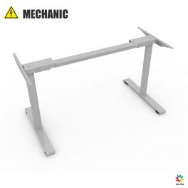 Каркас MECHANIC-2 (silver) с электрической регулировкой высоты