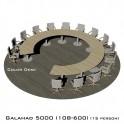 Galahad 5000 (108-600) стол круглый (без одного звена) для переговоров и конференций на 15 человек