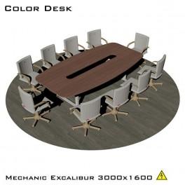 EXCALIBUR 3000 (MECHANIC) стол для переговоров с электрической регулировкой высоты (Экскалибур Механик)