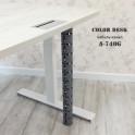 Кабель-канал A-740G серый вертикальный гибкий пластиковый составной для стола