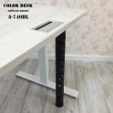 Кабель-канал A-740BL чёрный вертикальный гибкий пластиковый составной для стола