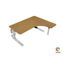 Стол письменный C-Desk A-1412R угловой, регулируемый по высоте и ширине